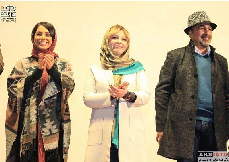 بازیگران بازیگران زن ایرانی  نیوشا ضیغمی در اکران مردمی ثبت با سند برابر است در سینما ماندانا