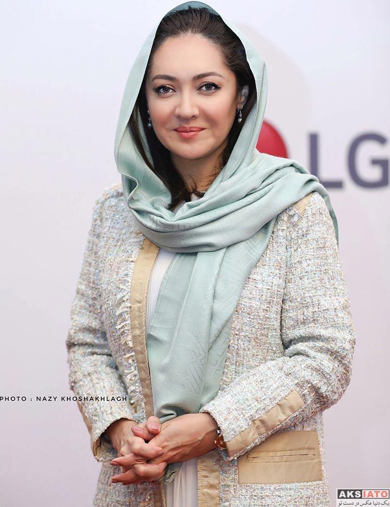 بازیگران بازیگران زن ایرانی  نیکی کریمی در اکران خصوصی فیلم آذر (8 عکس)