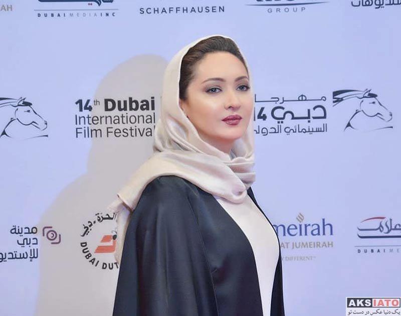 بازیگران بازیگران زن ایرانی  نیکی کریمی در جشنواره فیلم دبی (5 عکس)