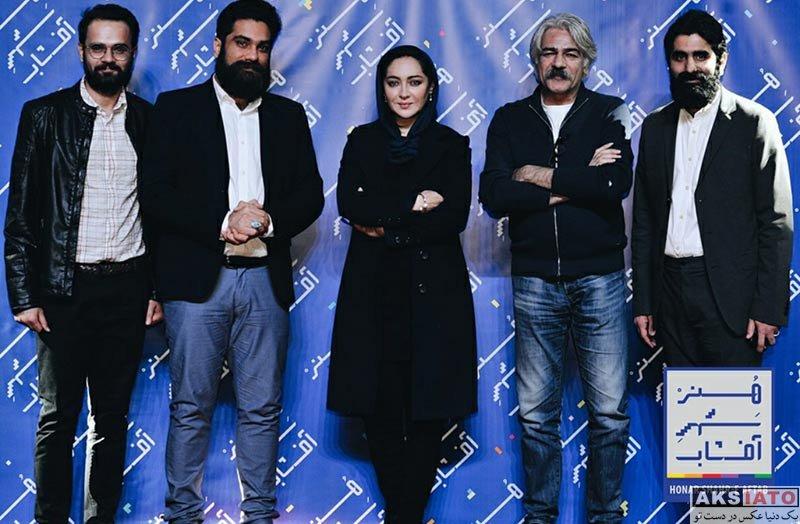 بازیگران بازیگران زن ایرانی  نیکی کریمی در اکران مردمی فیلم آذر شهر آفتاب (5 عکس)