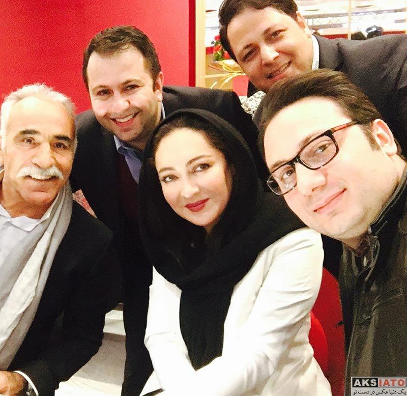 بازیگران بازیگران زن ایرانی  نیکی کریمی در مراسم رونمایی از جواهرات فروشگاه علی دایی