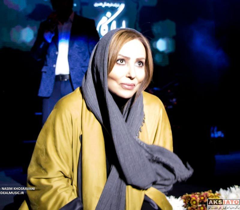 بازیگران بازیگران زن ایرانی  پرستو صالحی در کنسرت حجت اشرف زاده (2 عکس)