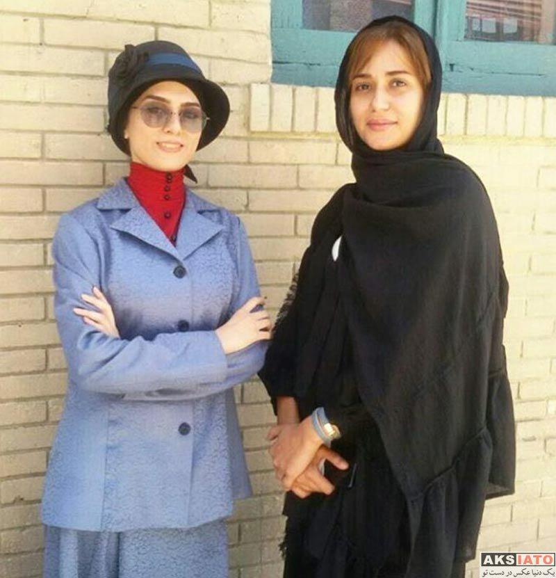بازیگران بازیگران زن ایرانی  عکس های پریناز ایزدیار در آذر ماه 96 (6 تصویر)