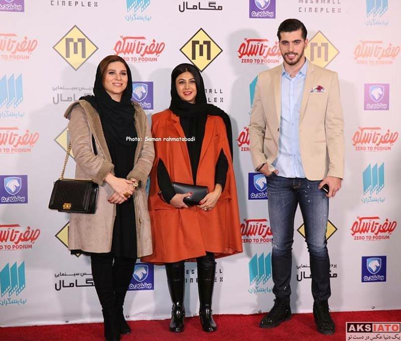 ورزشکاران ورزشکاران مرد  سعید عزت اللهی در اکران مردمی مستند صفر تا سکو (4 عکس)