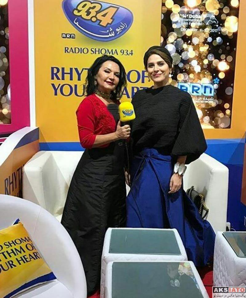 بازیگران بازیگران زن ایرانی  سحر دولتشاهی در جشنواره بینالمللی فیلم دبی (3 عکس)