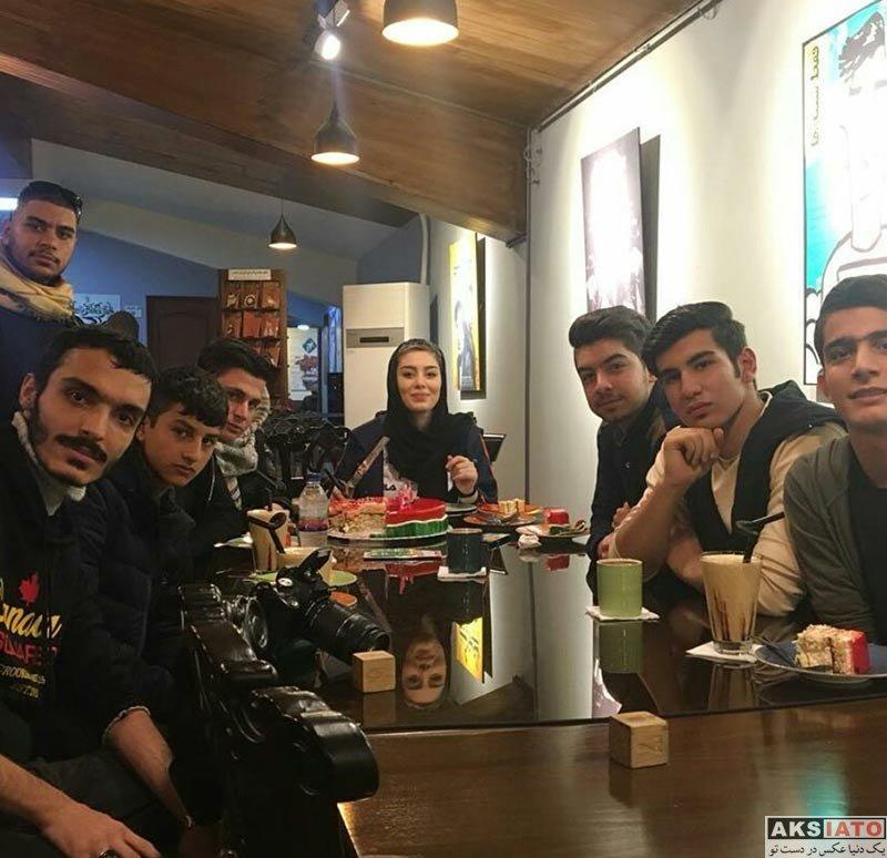 بازیگران بازیگران زن ایرانی جشن تولد ها  جشن تولد 30 سالگی سحر قریشی (4 عکس)