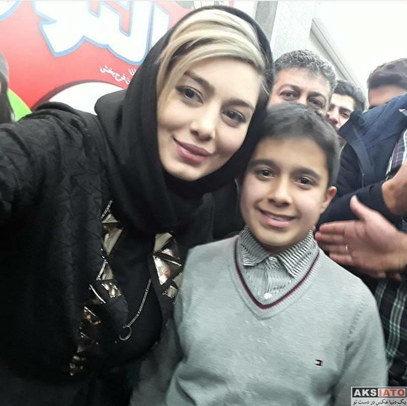 بازیگران بازیگران زن ایرانی  اکران مردمی فیلم خالتور با حضور سحر قریشی (5 عکس)