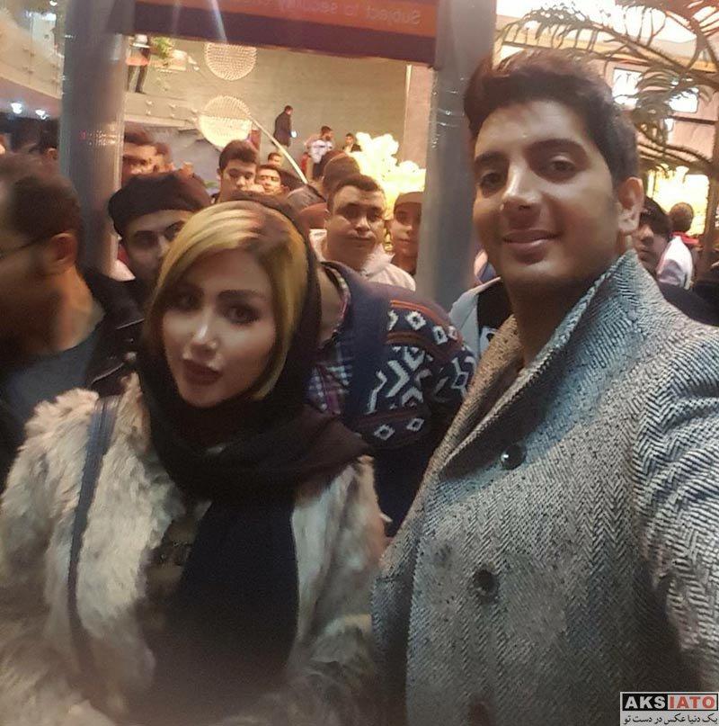 بازیگران بازیگران زن ایرانی  سحر واثقی در اکران خصوصی فیلم آینه بغل (2 عکس)