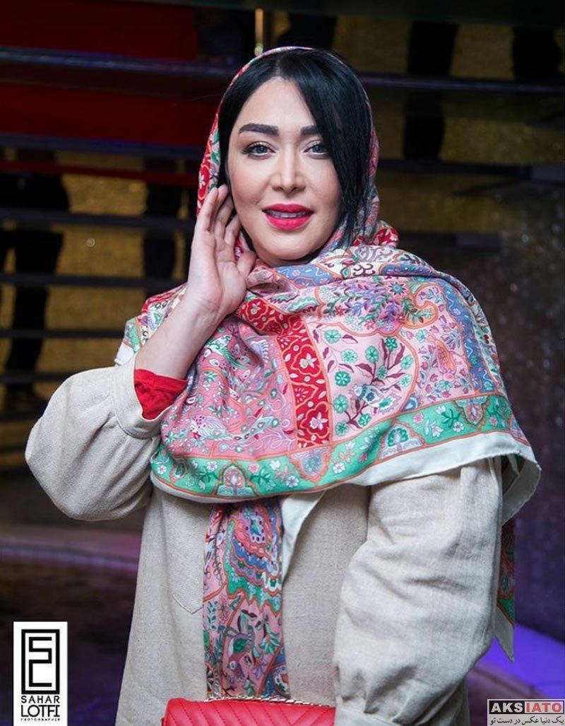 بازیگران بازیگران زن ایرانی  سارا منجزی در اکران خصوصی فیلم آینه بغل (۴ عکس)