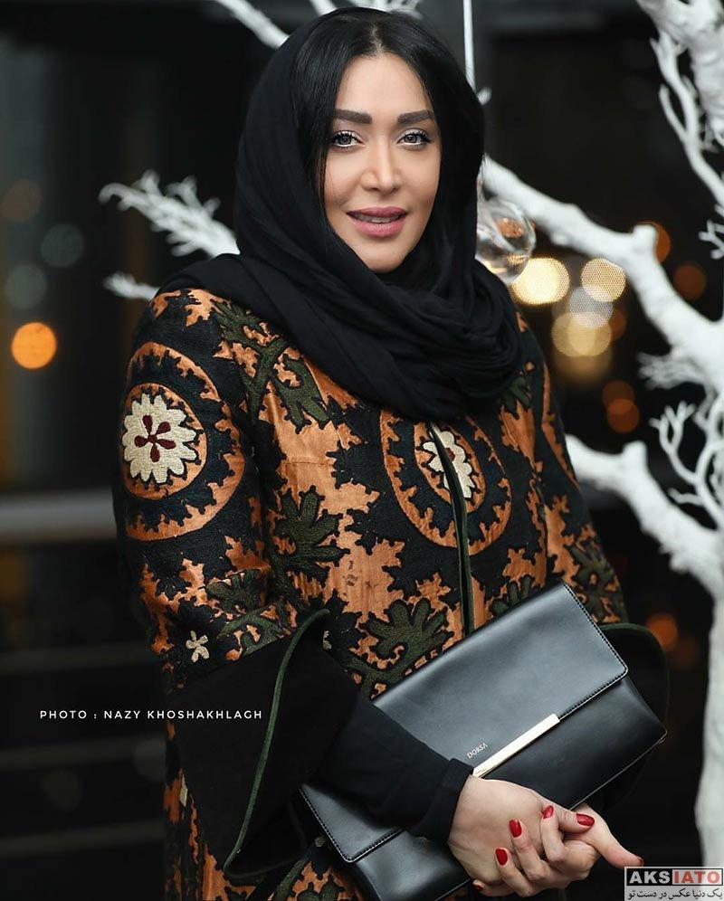 بازیگران بازیگران زن ایرانی  سارا منجزی در اکران خصوصی فیلم حریم شخصی (5 عکس)