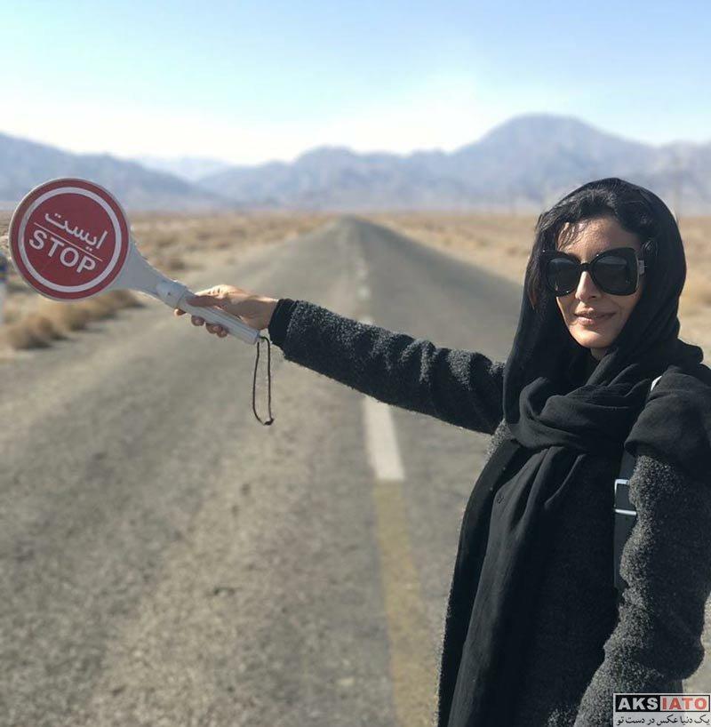بازیگران بازیگران زن ایرانی  عکس های ساره بیات در آذر ماه 96 (6 تصویر)