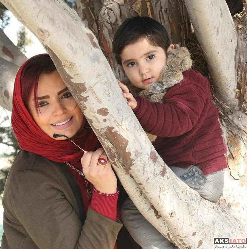 بازیگران بازیگران زن ایرانی  عکس های سپیده خداوردی و پسرش در دی ماه 96