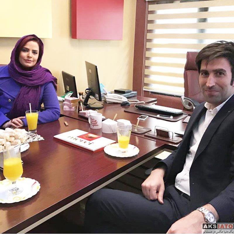 بازیگران بازیگران زن ایرانی  سپیده خداوردی در آژانس مسافربری الیاد گشت (3 عکس)