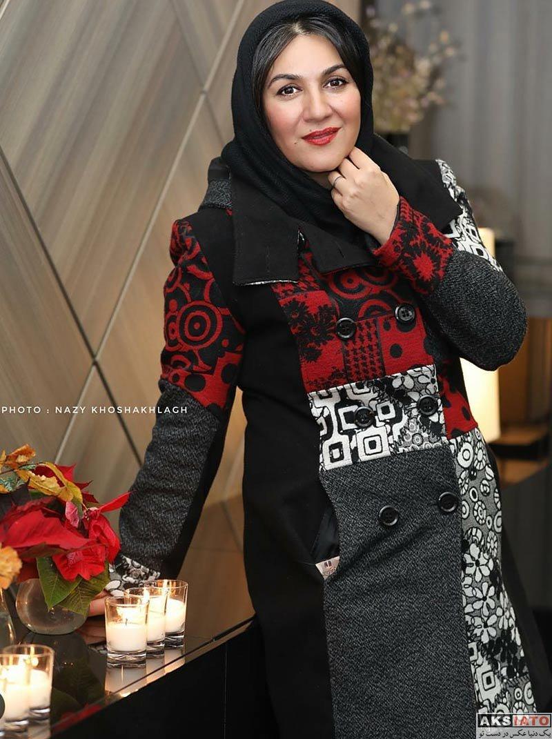 بازیگران بازیگران زن ایرانی  ستاره اسکندری در اکران خصوصی فیلم خانه کاغذی (۳ عکس)