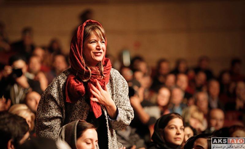 بازیگران بازیگران زن ایرانی  ستاره پسیانی در کنسرت گروه داماهی (3 عکس)