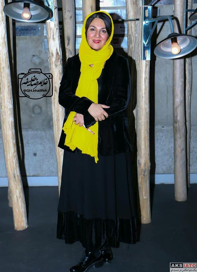 بازیگران بازیگران زن ایرانی  ستاره اسکندری در اکران مردمی فیلم خانه کاغذی (4 عکس)