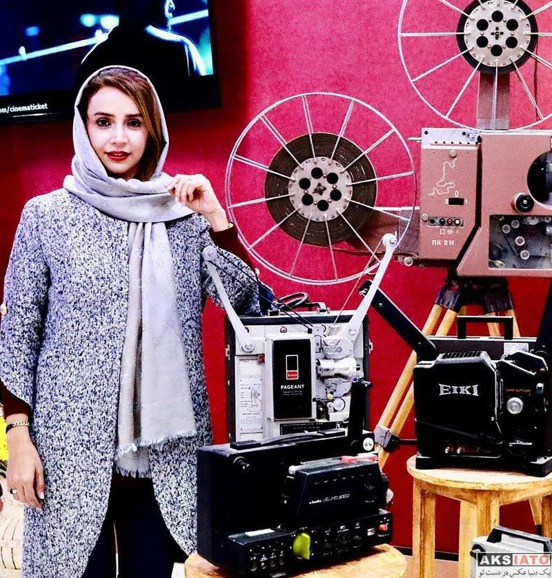 بازیگران بازیگران زن ایرانی  عکس های شبنم قلی خانی در آذر ماه 96 (8 تصویر)