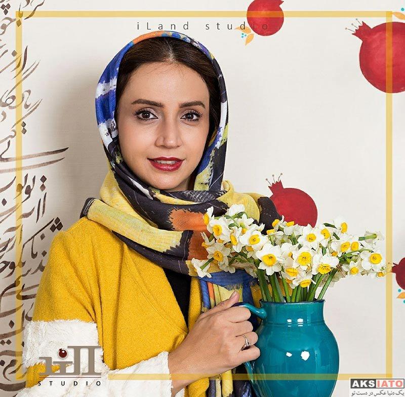 بازیگران بازیگران زن ایرانی  عکس های شب یلدایی شبنم قلی خانی در دی 96