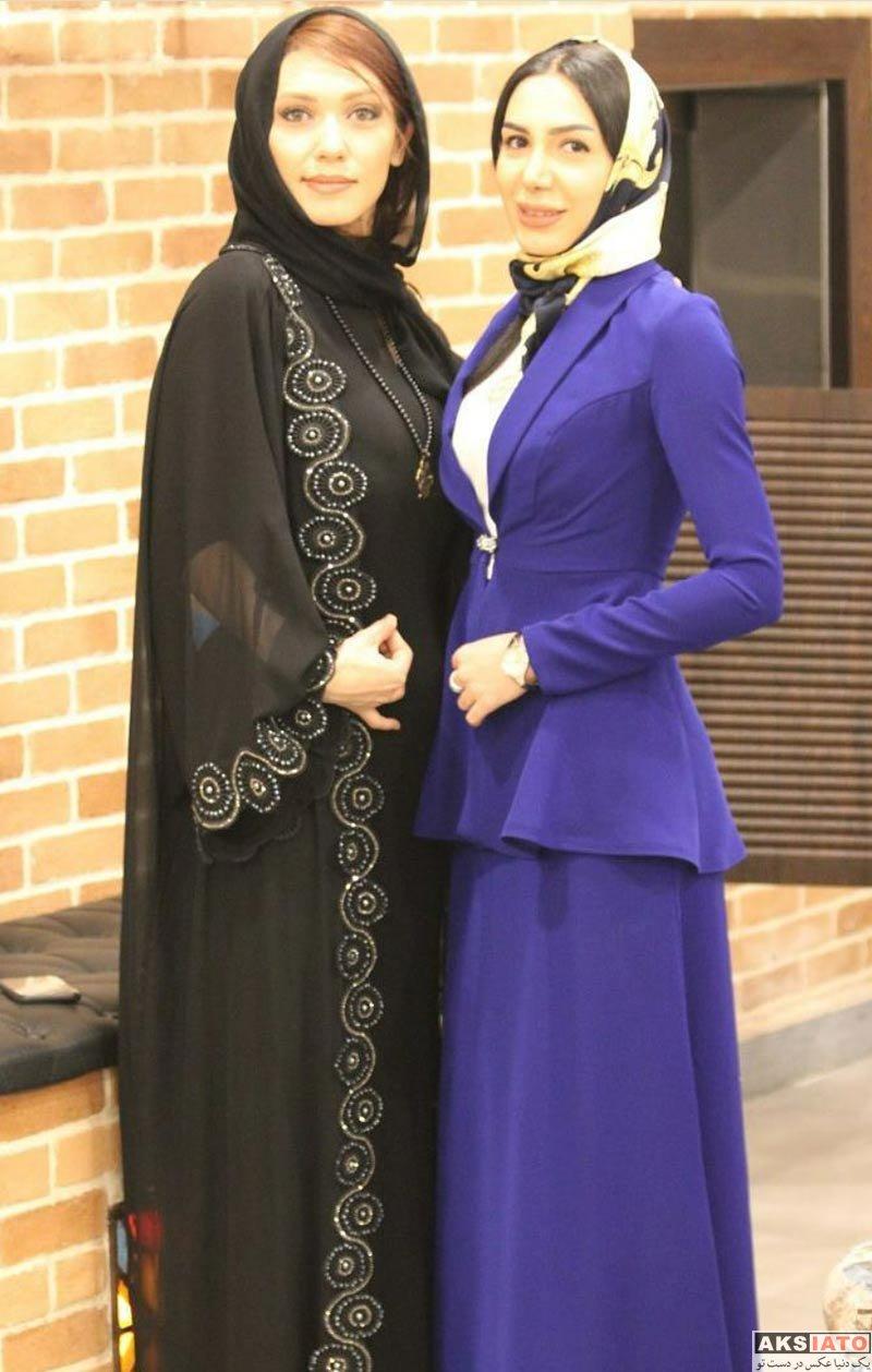 بازیگران بازیگران زن ایرانی  شهرزاد کمال زاده در مهمانی مدیریت مزون حانیار (4 عکس)