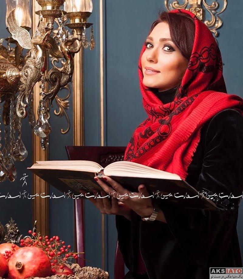 بازیگران بازیگران زن ایرانی  عکس های شب یلدای شهرزاد کمال زاده در دی 96