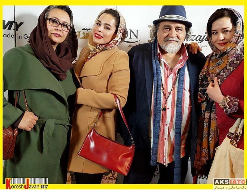 بازیگران خانوادگی خانواده شریفی نیا در جشن ماهنامه پژواک (3 عکس)