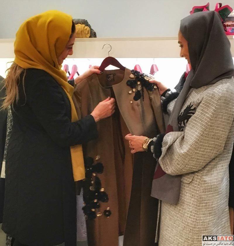 بازیگران بازیگران زن ایرانی  سوگل طهماسبی در مزون نخشین (3 عکس)