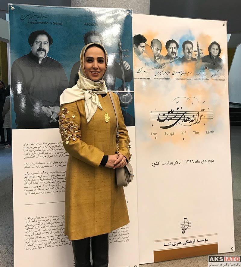 بازیگران بازیگران زن ایرانی  سوگل طهماسبی در کنسرت ترانه های زمین