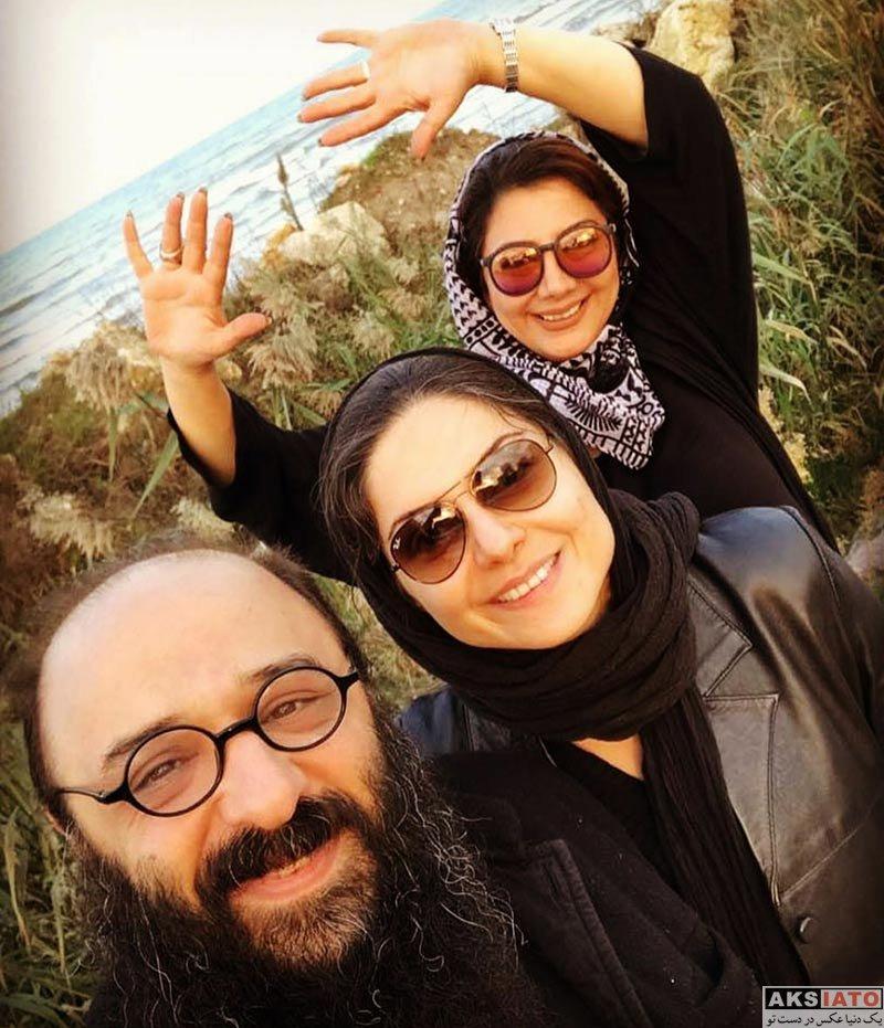 بازیگران بازیگران زن ایرانی  عکس های سولماز غنی و همسرش در آذر 96 (3 تصویر)