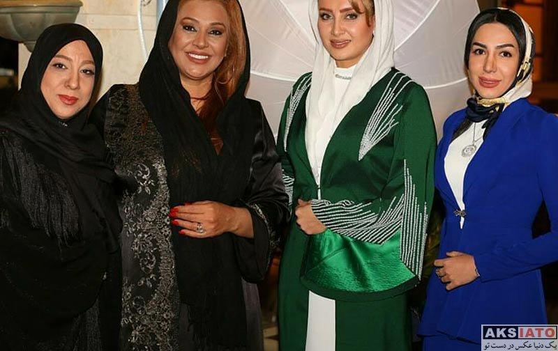بازیگران بازیگران زن ایرانی  سولماز حصاری در مهمانی مدیریت مزون حانیار (۴ عکس)