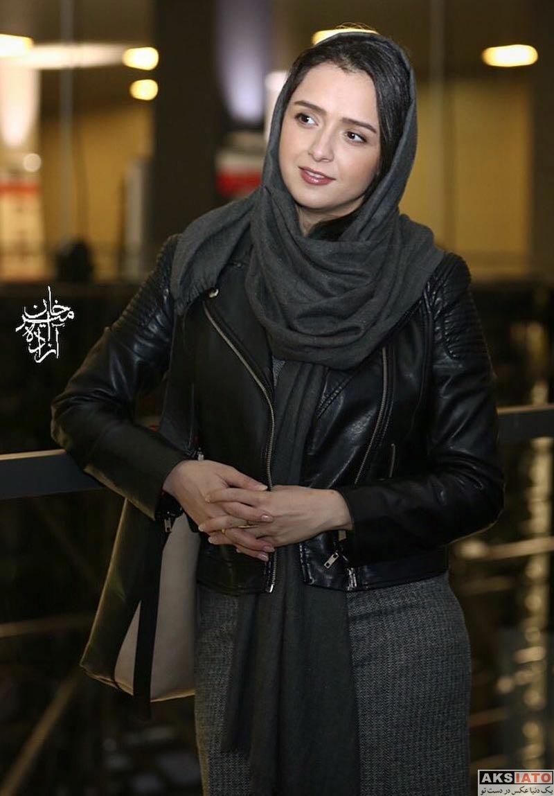 بازیگران بازیگران زن ایرانی  ترانه علیدوستی در دومین اکران خصوصی صفر تا سکو (7 عکس)