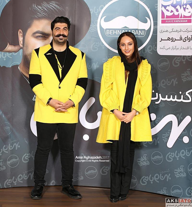 بازیگران بازیگران زن ایرانی  ترلان پروانه در کنسرت آذر ماه بهنام بانی