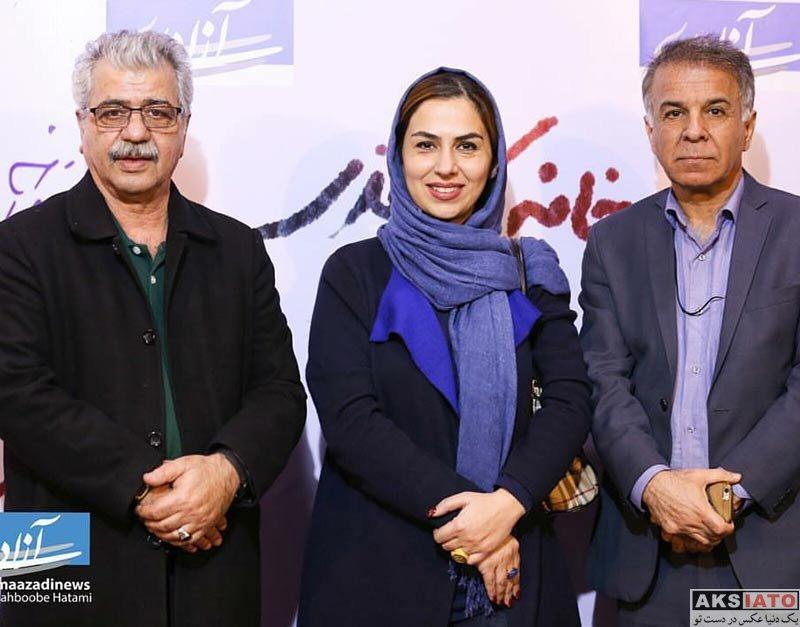 بازیگران بازیگران زن ایرانی  تینا پاکروان در اکران فیلم خانه کاغذی در سینما آزادی (4 عکس)