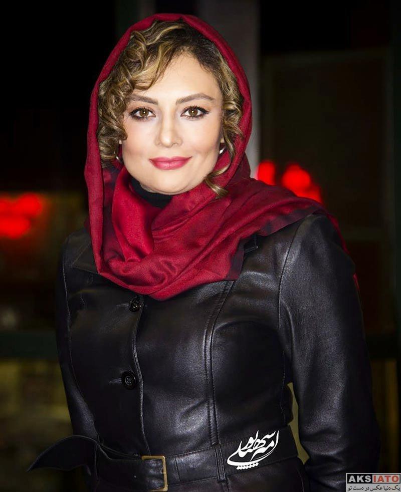 بازیگران بازیگران زن ایرانی  یکتا ناصر در اکران مردمی فیلم آینه بغل (5 عکس)