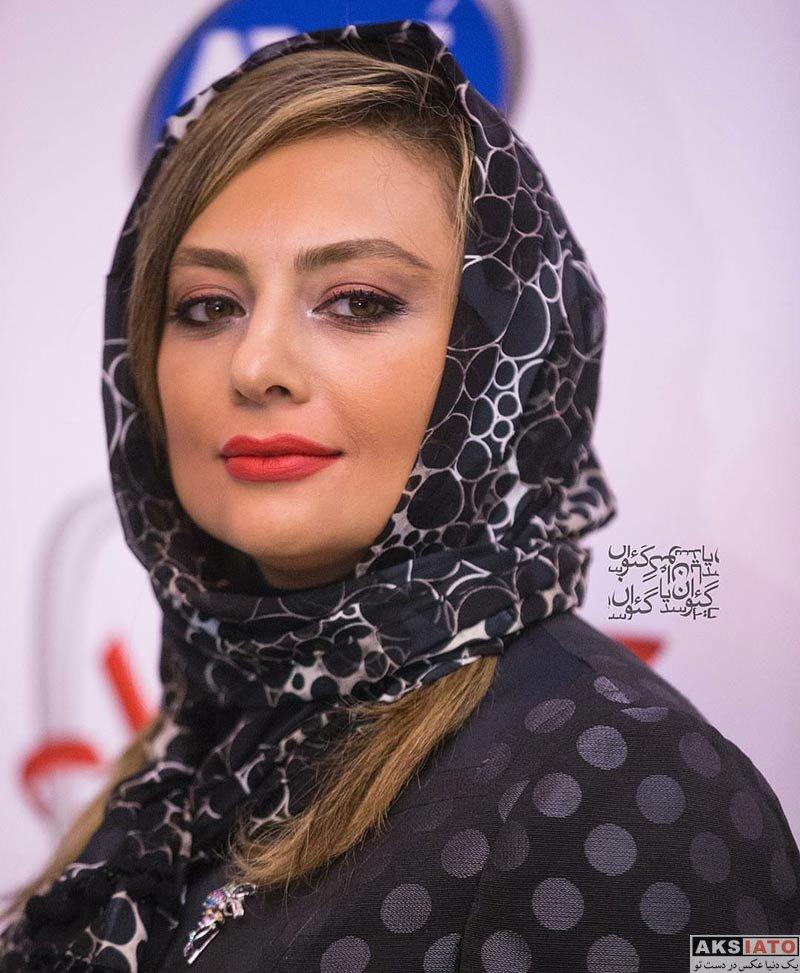 بازیگران بازیگران زن ایرانی  یکتا ناصر در اکران خصوصی فیلم آینه بغل (4 عکس)