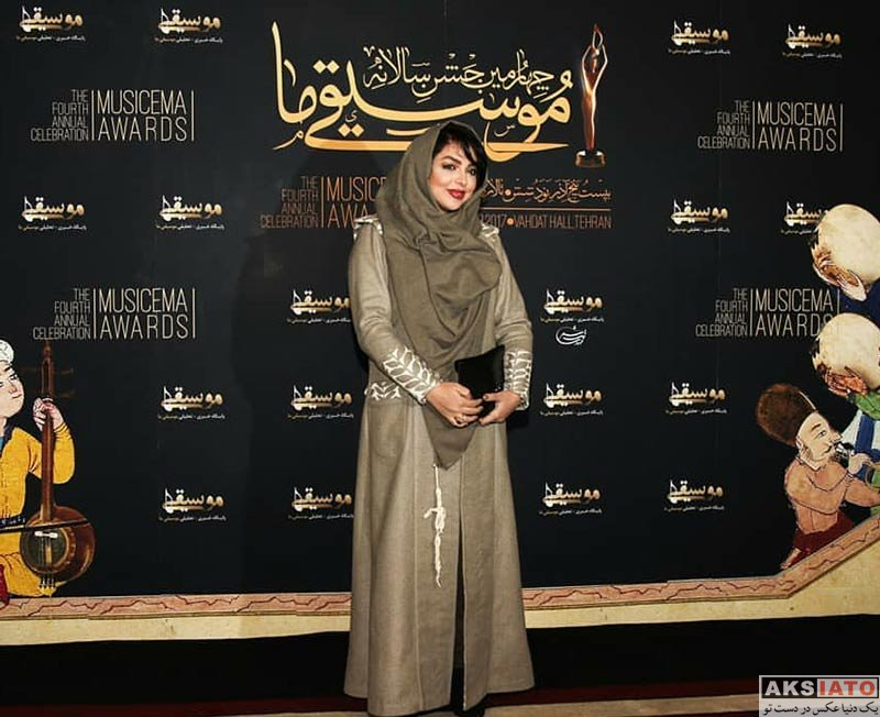 بازیگران شاعر و ترانه سرا  زهرا عاملی در چهارمین جشن سالانه موسیقی ما (2 عکس)