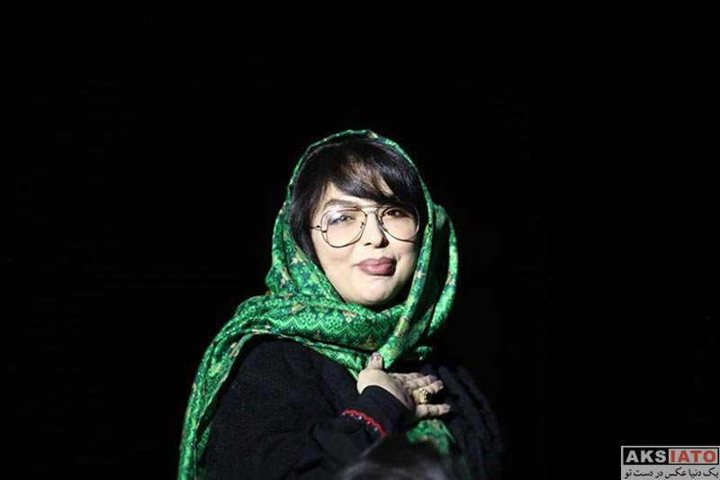 بازیگران مجریان  زهرا عاملی در کنسرت علیرضا طلیسچی در آذر ۹۶ (۳ عکس)