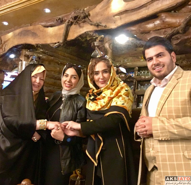 بازیگران بازیگران زن ایرانی  زهره فکور صبور و دیگر هنرمندان در یک جشن تولد (4 عکس)