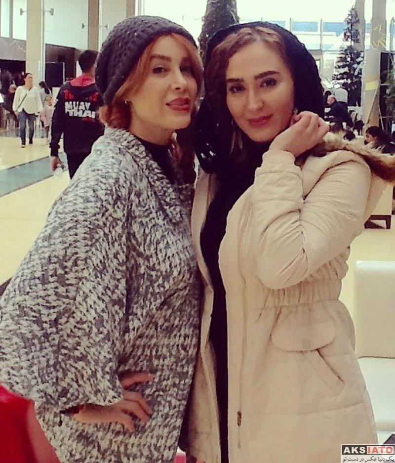 بازیگران بازیگران زن ایرانی  زهره فکورصبور و گلشید بحرایی در ترکیه (4 عکس)