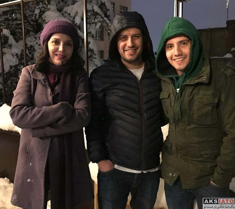 بازیگران بازیگران زن ایرانی  بازیگران زن در روز برفی تهران در بهمن ماه ۹۶ (10 عکس)