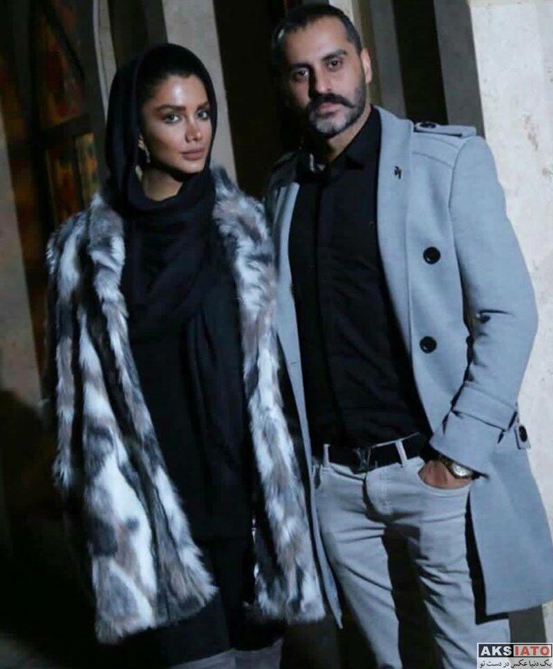 بازیگران  عکس جدید علیرام نورایی در کنار همسرش