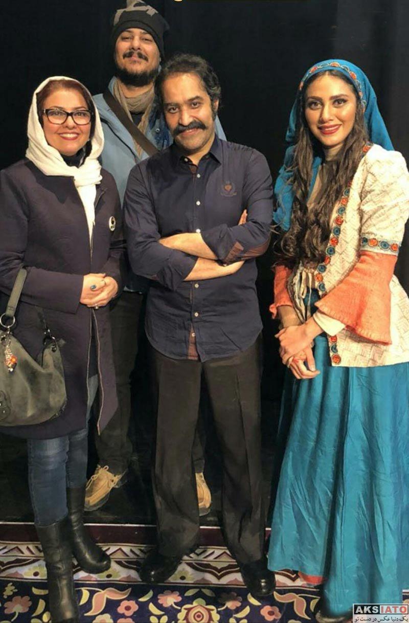 بازیگران بازیگران زن ایرانی  آناهیتا همتی در اجرای نمایش شیرهای خان بابا سلطنه (2 عکس)