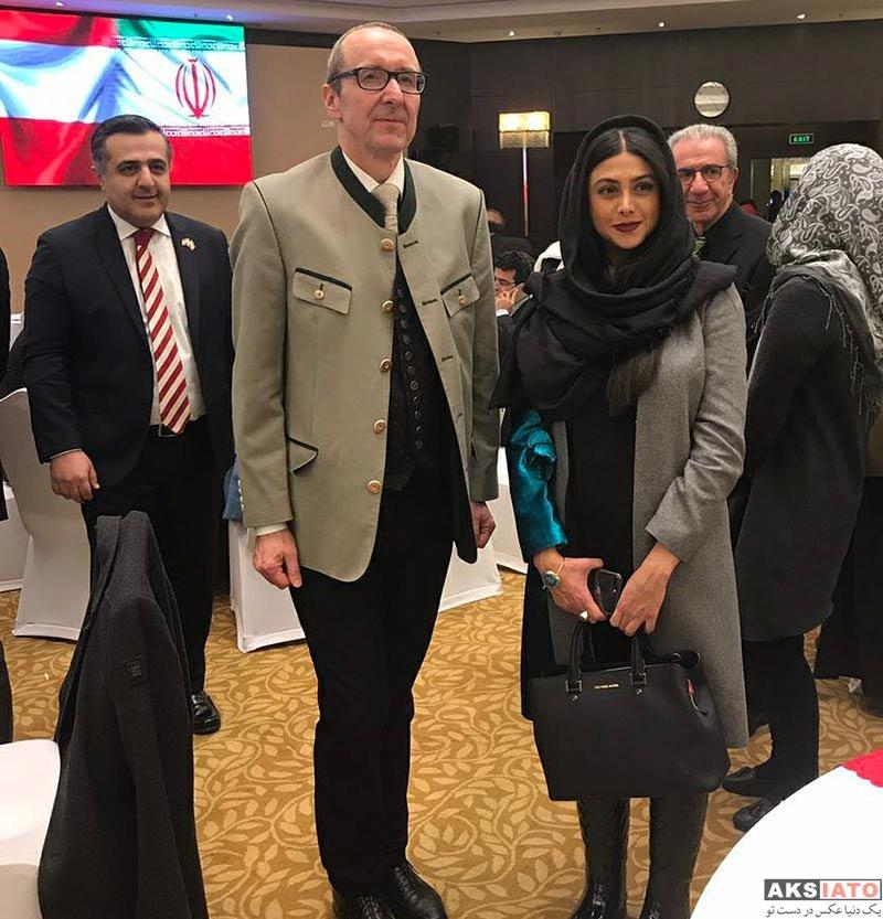 بازیگران بازیگران زن ایرانی  آزاده صمدی در جشنواره غذای اتریشی (4 عکس)