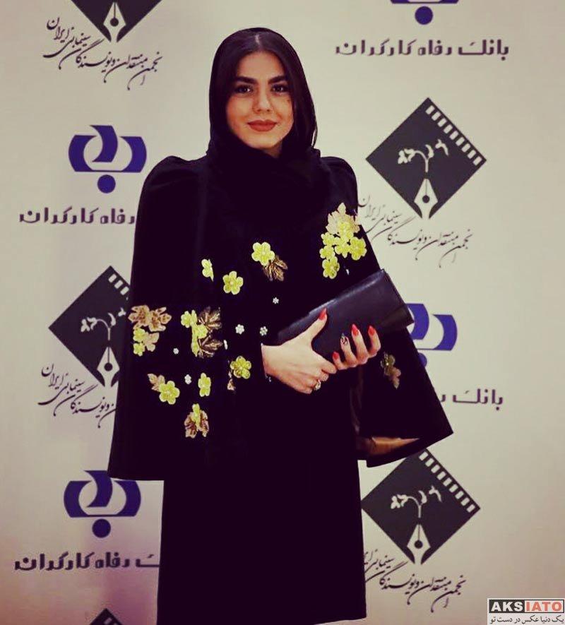 بازیگران بازیگران زن ایرانی  آزاده زارعی در پنجمین جشنواره نوشتار سینمایی (4 عکس)