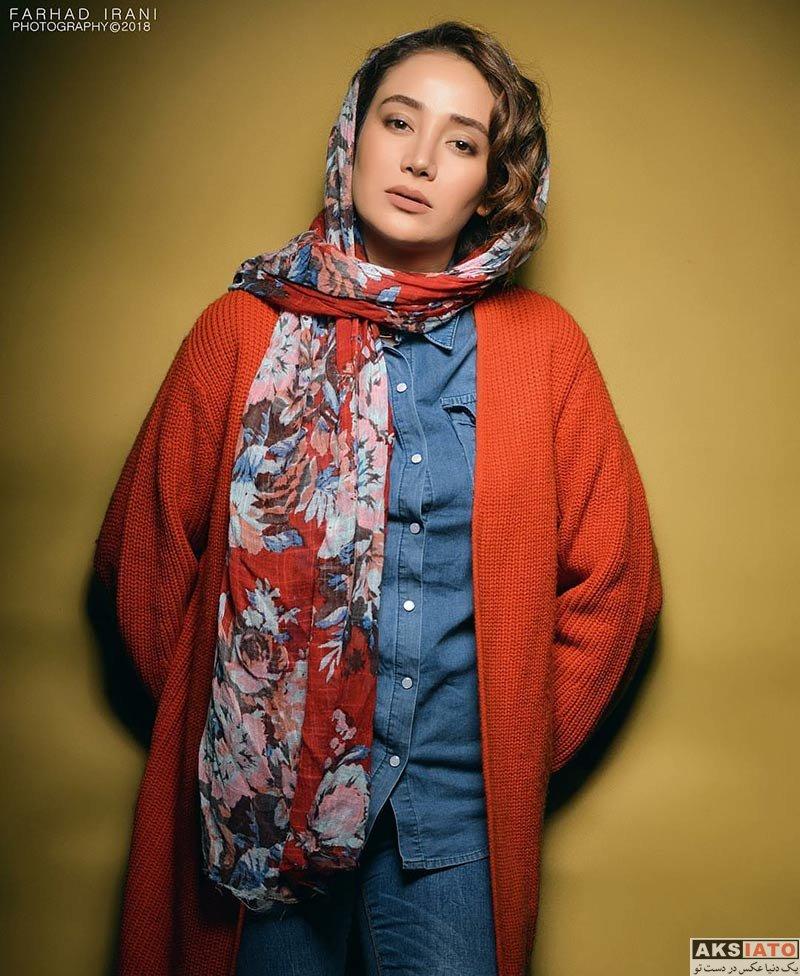عکس آتلیه و استودیو  عکس های آتلیه بهاره افشاری در بهمن ماه 96