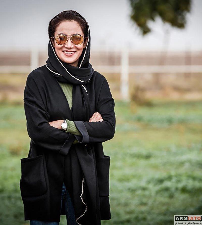 بازیگران بازیگران زن ایرانی  بهاره افشاری در پشت صحنه مستند سریک (4 عکس)