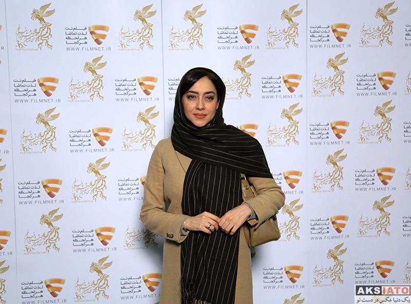 بازیگران بازیگران زن ایرانی  بهاره کیان افشار در برنامه دو قدم مانده به سیمرغ (7 عکس)