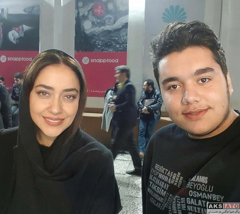 بازیگران بازیگران زن ایرانی  بهاره کیان افشار در اجرای نمایش شیوه به قداست ... (2 عکس)