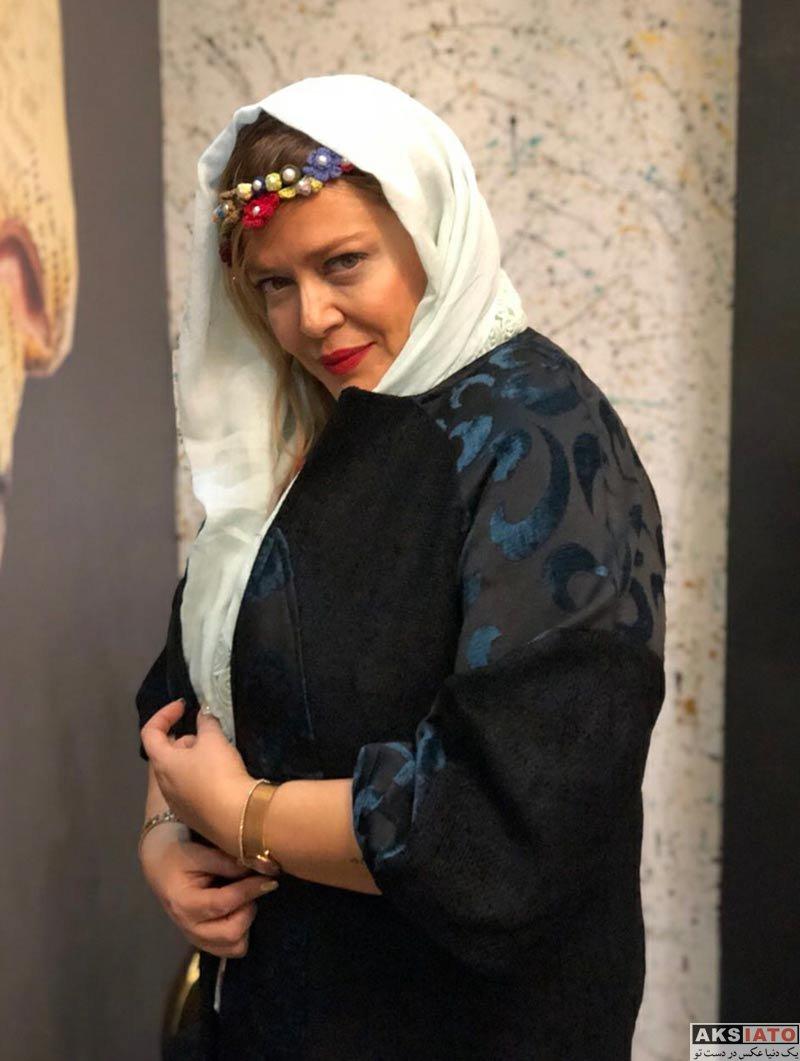 بازیگران بازیگران زن ایرانی  عکس های تلیغاتی بهاره رهنما برای یک برند فروش مانتو (5 تصویر)