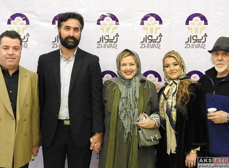 بازیگران بازیگران زن ایرانی  بهاره رهنما و همسرش در افتتاحیه فروشگاه ژیوار (3 عکس)