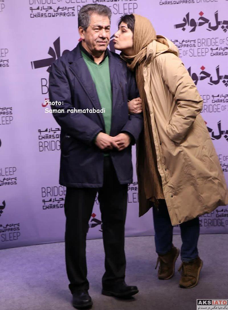 بازیگران بازیگران زن ایرانی باران کوثری در اکران خصوصی فیلم پل خواب (6 عکس)